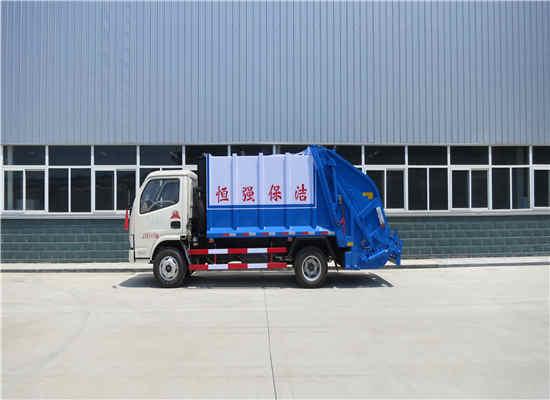 东风15方自装卸式压缩垃圾清运车价格