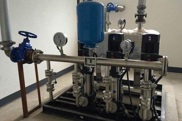 武威罐式和箱式无负压供水设备价格优惠