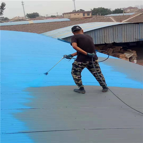 峰峰矿区彩钢顶生锈专业喷漆可加工生产