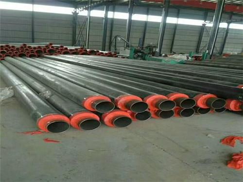 DN300热力管网改造用钢套钢保温管材质保证