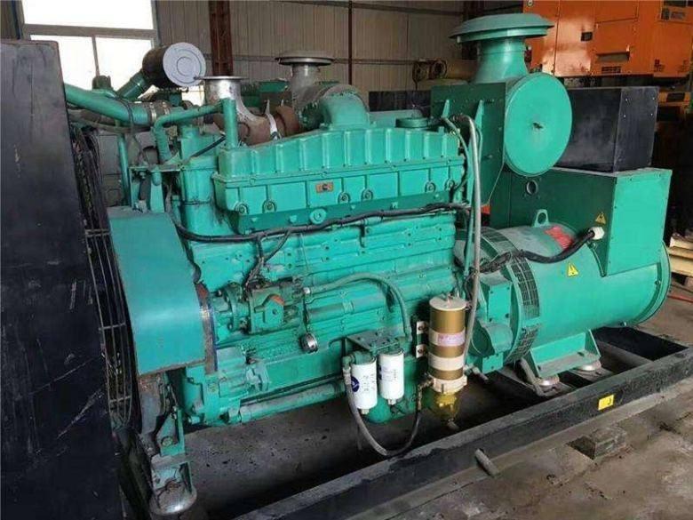 中山市二手上柴柴油发电机组回收高价收购