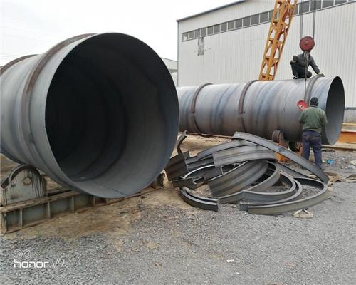 淮北820*9螺旋钢管价格批零