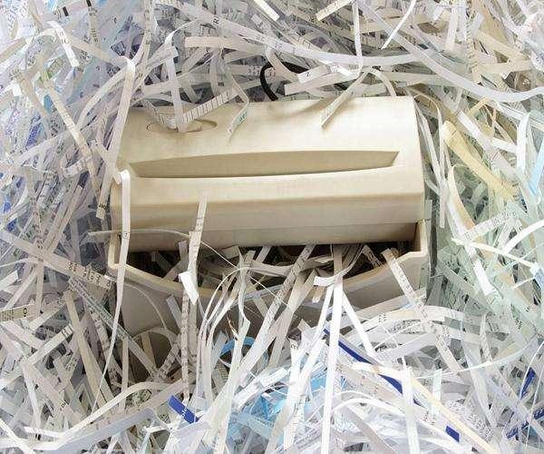 虎门作废文件机械粉碎处理站点