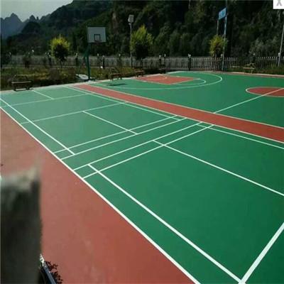 吉林舒兰丙烯酸网球场铺设流程_厂家提供
