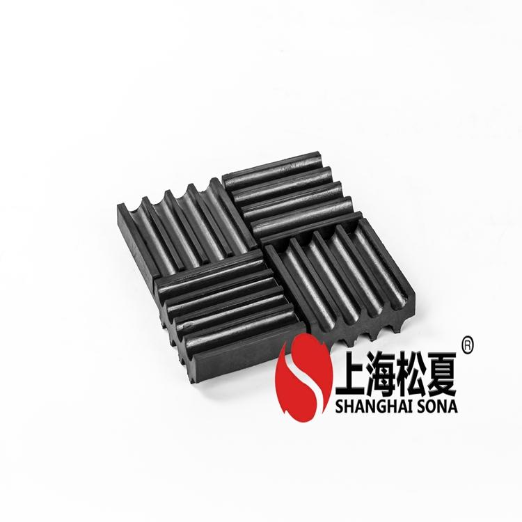 蒙阴小型高压鼓风机橡胶隔震垫品质服务