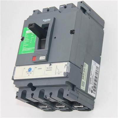 焦作市NSX250N TMD 250 4P3D施耐德塑壳断路器供应商