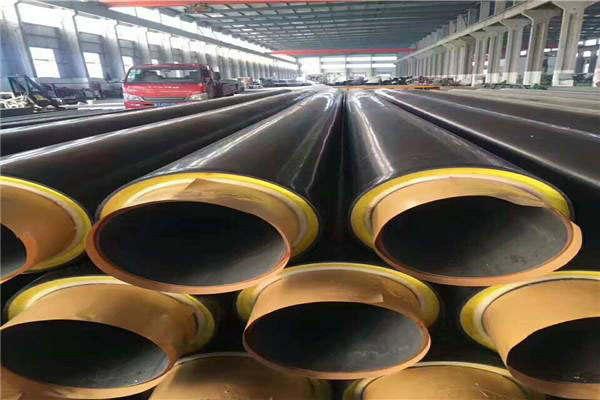 山东省东营市小区供暖聚乙烯外套预制直埋保温钢管皮套厂高性价比