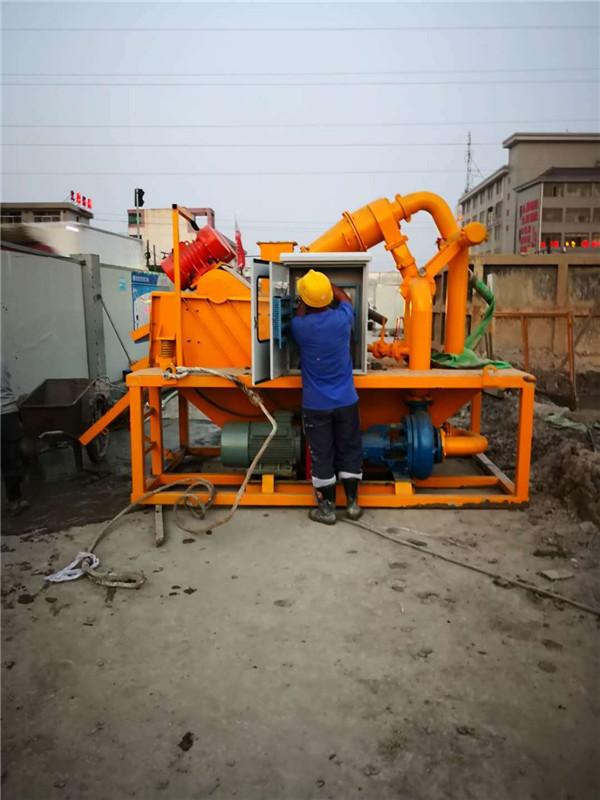 盾构泥浆除砂设备嘉兴操作说明