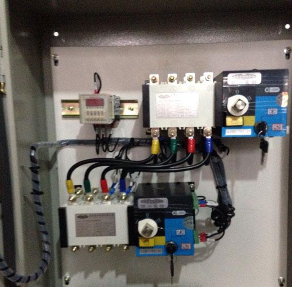 蓝山塑壳式断路器BJMM8-400/3接线图