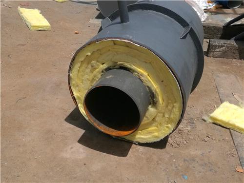 沧州黄骅钢套钢直埋式预制蒸汽管道唐河订购厂家