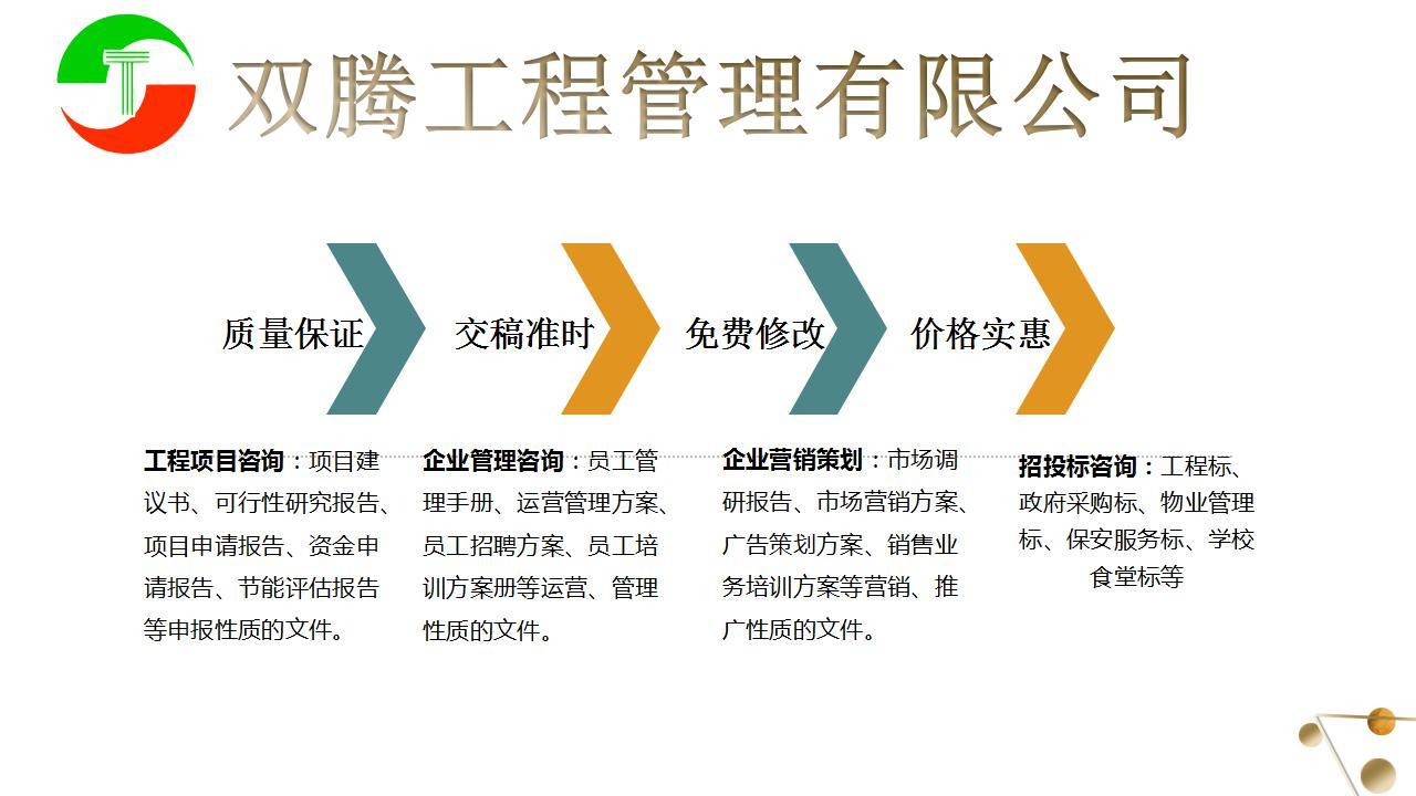 辽宁盘锦代写建筑材料可行性报告快速代写的公司