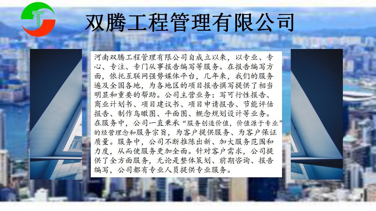 潢川做电子项目实施方案发改委推荐的公司