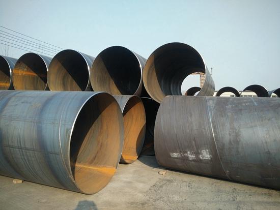 排水长输管线螺旋钢管多少钱一米