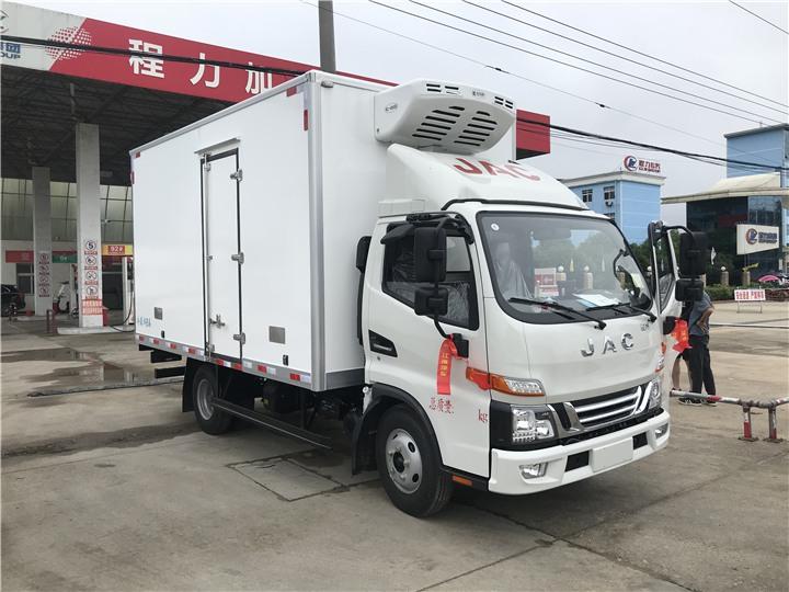 呼和浩特土默特左旗茶叶冷藏车生产厂家程力冷藏车厂家
