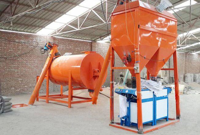 温州干粉搅拌机三吨
