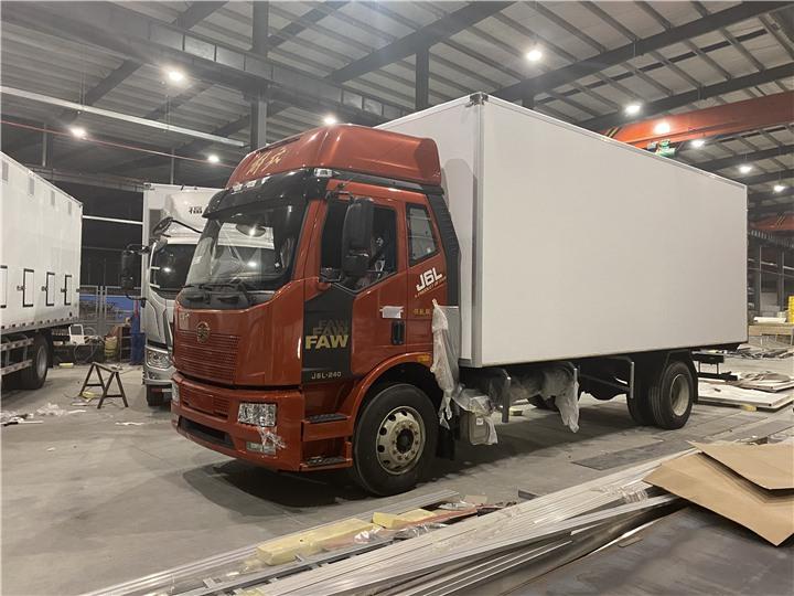 灵寿12吨冷藏车图片冷藏车知名品牌