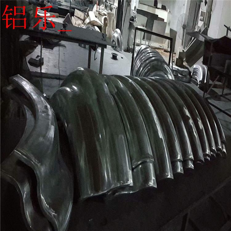 果双弧铝单板制造商-铝乐建材