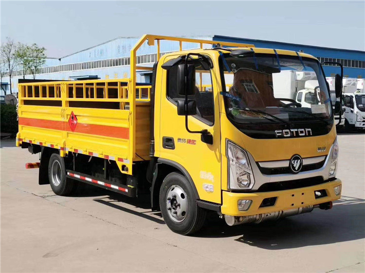 三沙东风微型气瓶车危险品货车市场反响