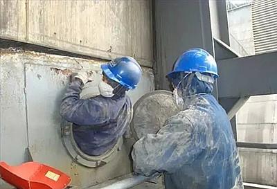 恩平电厂锅炉炉膛结灰清理——技术卓越