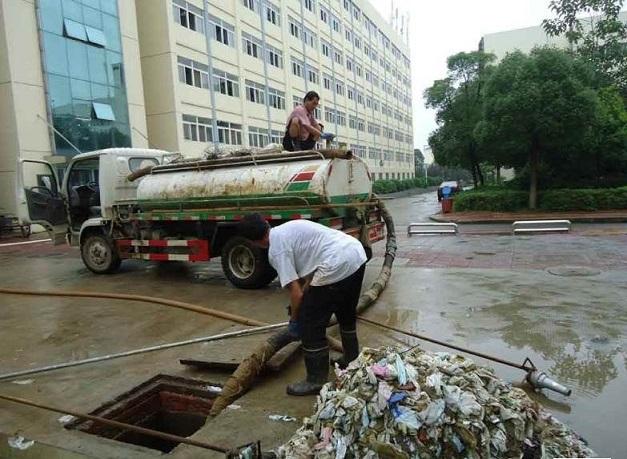 常州金坛经济开发区化粪池清理常见方法