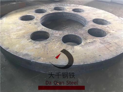 泰安160mm165mm45钢零割法兰盘厂