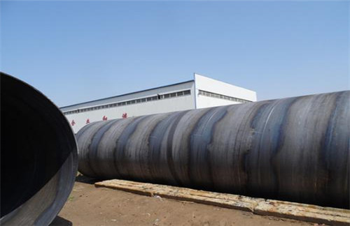 信阳污水处理螺旋钢管价格浮动