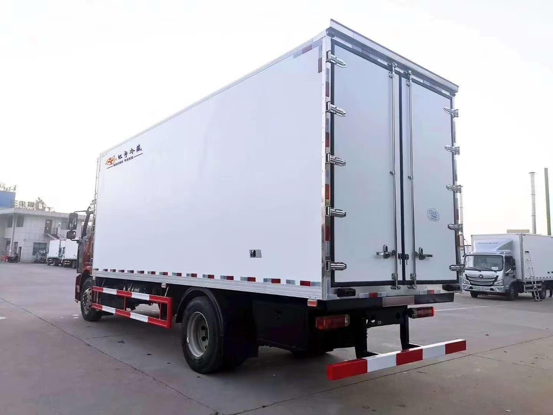延边朝鲜族自治州欧马可S5冷藏车6.8米220马力冷藏车厂家直销价格优惠力度大