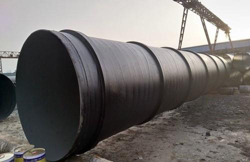 污水排放用直径820螺旋焊接钢管价格/