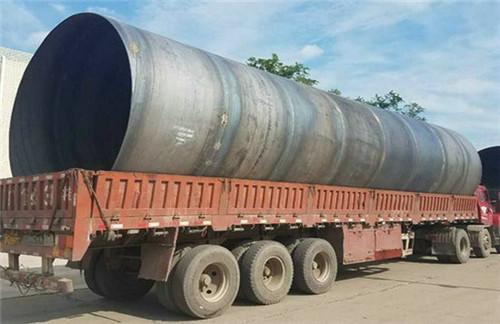 (盱眙)排水用大口径螺旋钢管价格