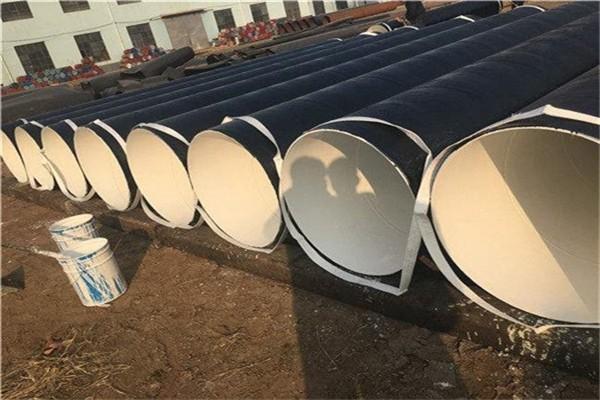 新抚法兰连接涂塑直缝钢管生产