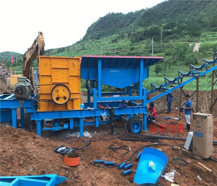 昆明移动破石机图片碎石机价格浙江温州碎石机现场生产视频图片
