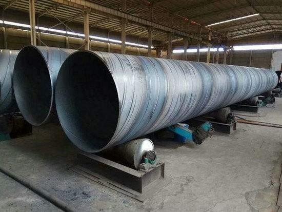 保定唐县478螺旋钢管价格