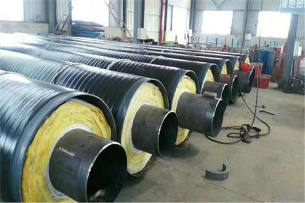玉树曲麻莱地埋式钢套钢蒸汽保温管厂家定制工程接单