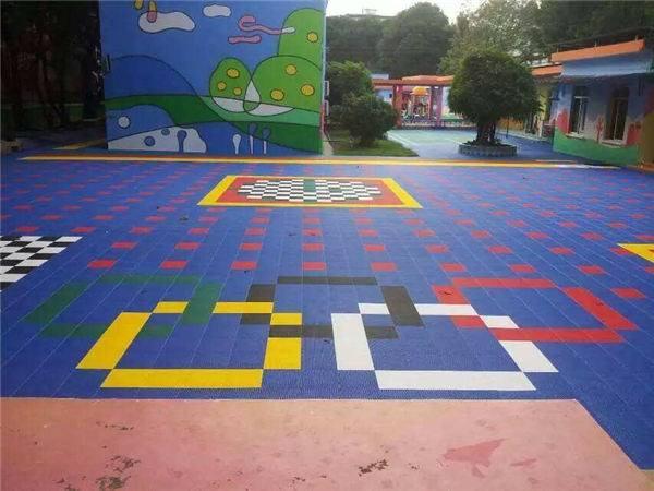 金普新区保税区五颜六色的悬浮地板@推荐咨询