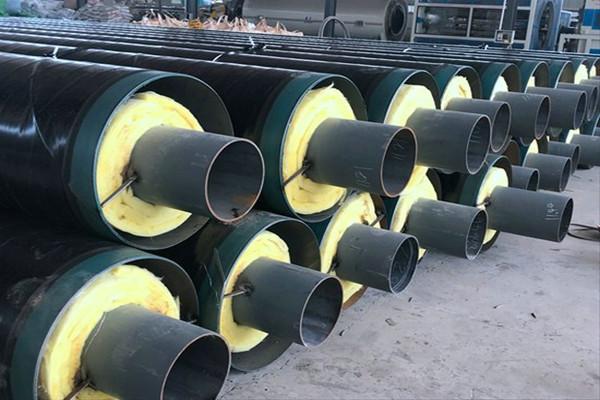 延安黄龙3pe防腐钢套钢保温钢管工艺特点