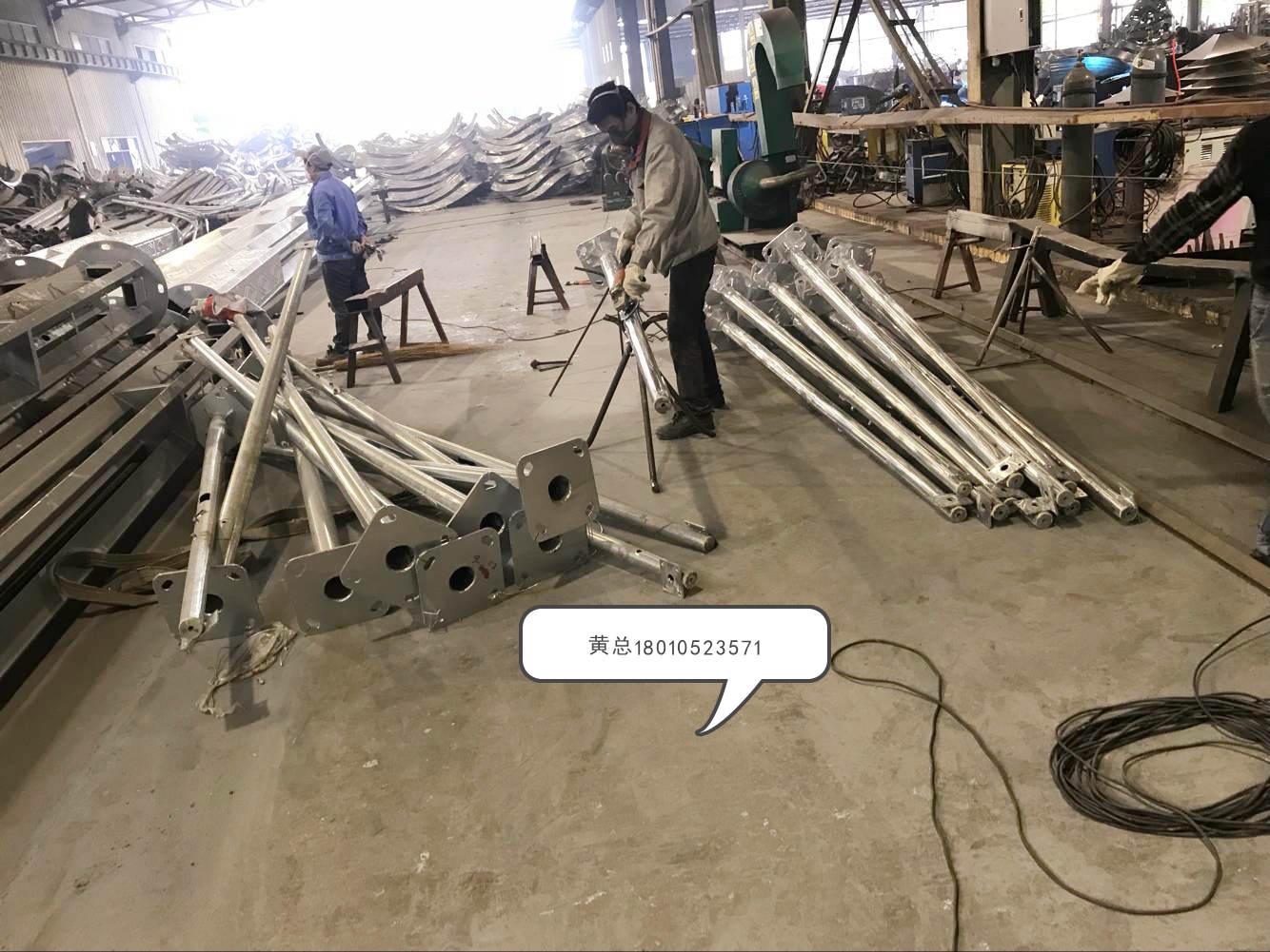 西安市13米监控立杆定制生产华体厂家直销