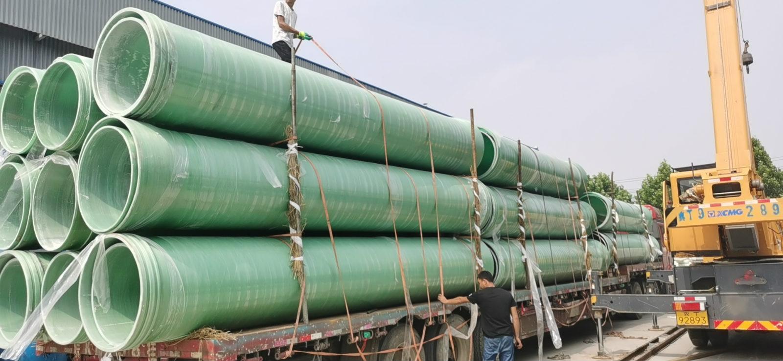 衢州直径350公分玻璃钢管道厂家批量销售
