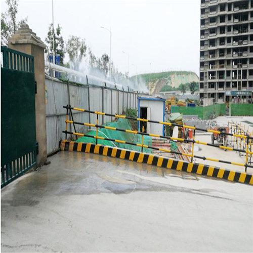 四川阆中全自动厂房喷淋系统建筑工地全自动围挡喷淋