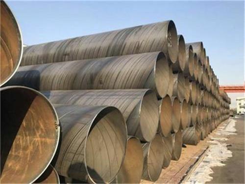 大口径厚壁螺旋钢管带票出厂价格