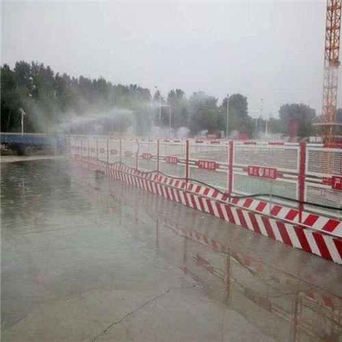 江苏镇江工地围挡喷淋设备工地围挡围墙喷雾喷淋