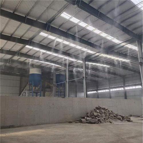 黑龙江牡丹江消防喷淋围挡喷淋降尘系统