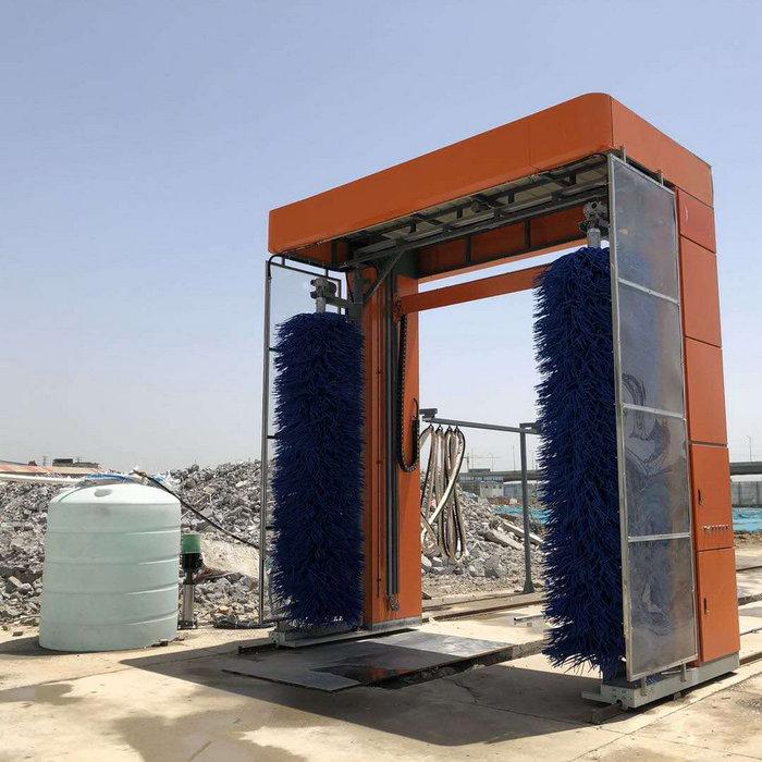 西华全自动龙门洗轮机 工地刷车机本地厂