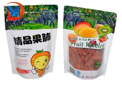 休闲食品自立袋尺寸参数-厂家A休闲食品自立袋罗山