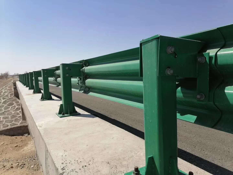 邵阳市隆回县2021乡村公路护栏板~现场测量