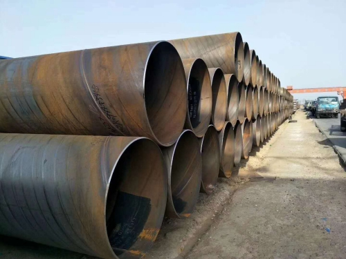 DN377*7输水用防腐螺旋钢管价格报价
