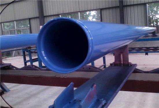 滁州市法兰连接涂塑钢管价格行情