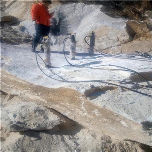 湖北天门岩石煤矿液压劈裂机介绍