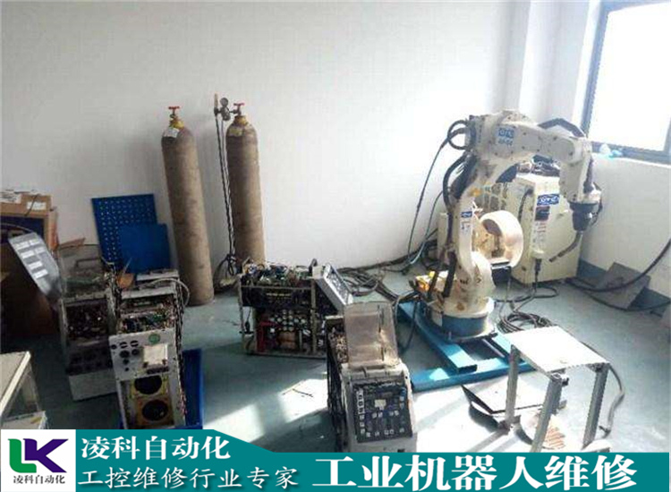 【工业机器人维修】OTC欧地希机器人短路维修实力