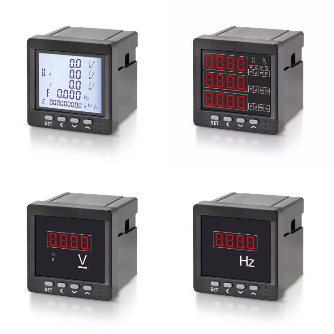 呼伦贝尔新巴尔虎右旗三相导轨式电能表GRDM80-C说明书