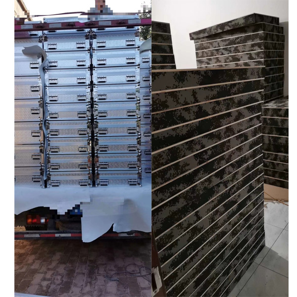 广州市定制铝合金军品箱定做正天铝箱批发